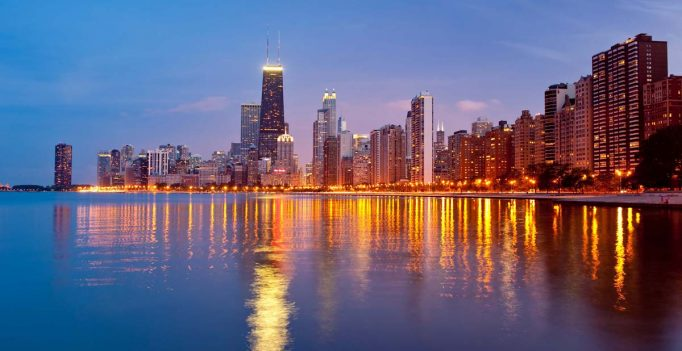 Chicago - Skyline North Lake Shore  Foto: Patrick L. Pyszka/City of Chicago